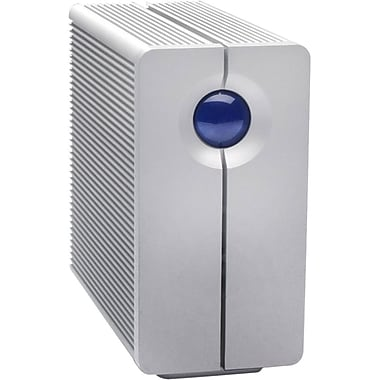 LaCie 2big Quadra USB 3.0 8TB Desktop RAID Storage, 2-Bay (LAC9000317)