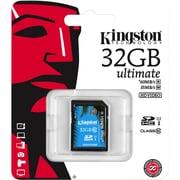 Kingston – Carte mémoire Secure Digital haute capacité (SDHC) Ultimate de 32 Go