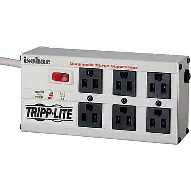 Tripp Lite Isobar 6 Outlets 120V Surge Suppressor