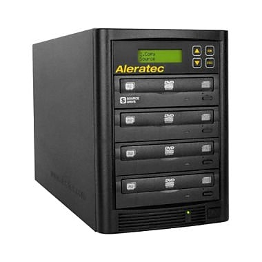 Aleratec – Tour de duplicateur autonome 1:3 DVD/CD
