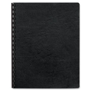 Fellowes® Executive Presentation Covers, Oversize, Black, 50/Pack (52146)