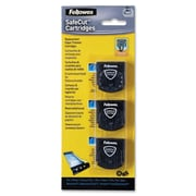 Fellowes – Ensemble de lames pour coupe-papier rotatif Safecut, paquet de 3 assorties