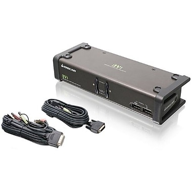 IOGEAR – Commutateur KVMP GCS1102 à interface DVI
