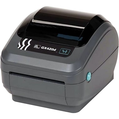 Zebra Gx420D Direct Thermal Printer, Monochrome, Desktop, Label Print (GX42-202512-000)