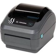 Zebra GX420D – Imprimante thermique directe de bureau, monochrome, impression d'étiquettes (GX42-202512-000)