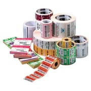 Zebra Z-Perform 2000D Semi-Permanent Adhesive Direct Thermal Label for DA402, White, 640 Label/Roll, 6/Roll (10010033)