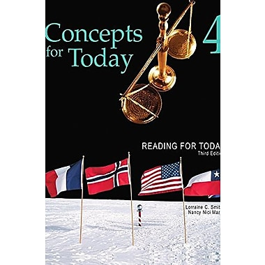 Reading for Today 4: Concepts for Today, New Book, (9781111033057)