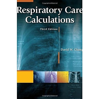 Respiratory Care Calculations, Used Book, (9781111307349)