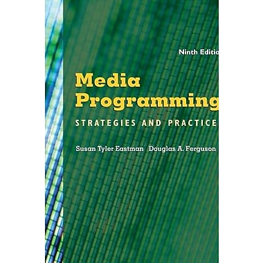 Media Programming: Strategies and Practices, New Book, (9781111344474)
