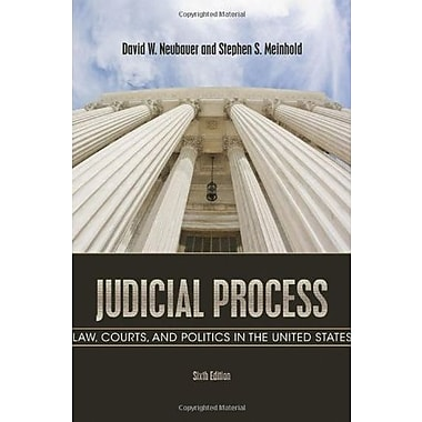 Judicial Process: Law, Courts, and Politics in the United States, New Book, (9781111357566)