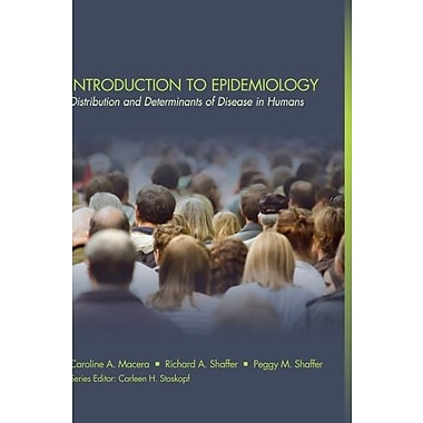 Introduction to Epidemiology: Distribution and Determinants of Disease (Public Health Basics), New Book, (9781111540302)