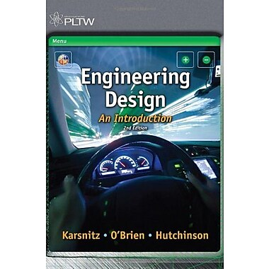 Engineering Design: An Introduction, New Book, (9781111645823)