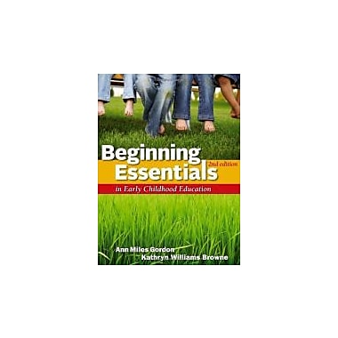 Beginning Essentials in Early Childhood Education, New Book, (9781111830830)
