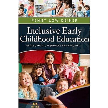 Inclusive Early Childhood Education: Development, Resources, and Practice, New Book, (9781111837150)