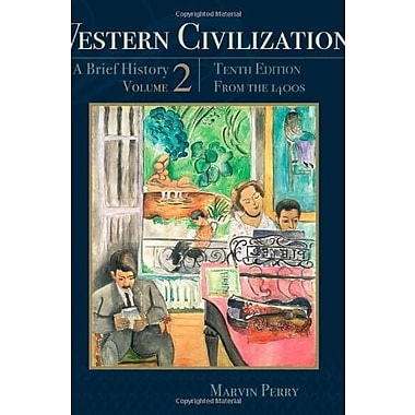 Western Civilization: A Brief History, Volume II: From the 1400's, New Book, (9781111837211)