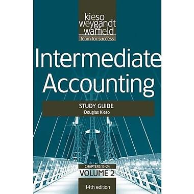 Intermediate Accounting, , Study Guide, Vol. II (Volume 2), New Book, (9781118014509)