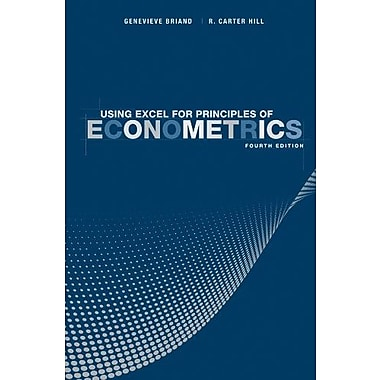 Using Excel for Principles of Econometrics, New Book, (9781118032107)