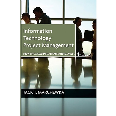 Information Technology Project Management, with CD-ROM, New Book, (9781118057636)