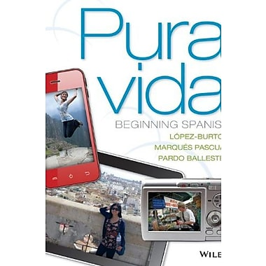 Pura vida: Beginning Spanish (Spanish Edition), New Book, (9781118087107)