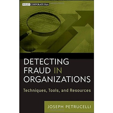 Detecting Fraud in Organizations: Techniques, Tools, and Resources, Used Book, (9781118103142)