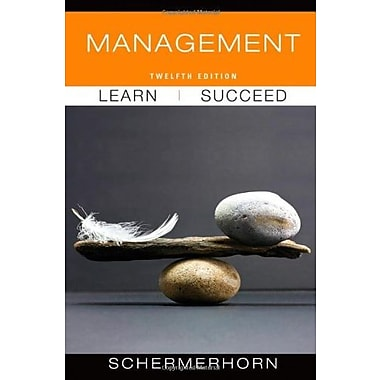 Management, 12th Edition, New Book, (9781118113929)