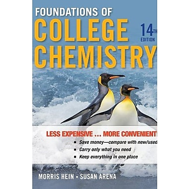 Foundations of College Chemistry, New Book, (9781118140185)