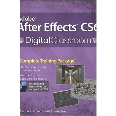 Adobe After Effects CS6 Digital Classroom, Used Book, (9781118142790)