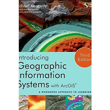 Introducing Geographic Information Systems with ArcGIS: A Workbook Approach to Learning GIS, New Book, (9781118159804)