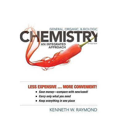 General, Organic, and Biological Chemistry: An Integrated Approach, Used Book, (9781118172193)