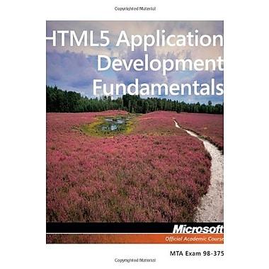 Exam 98-375 HTML5 Application Development Fundamentals, Used Book, (9781118359938)