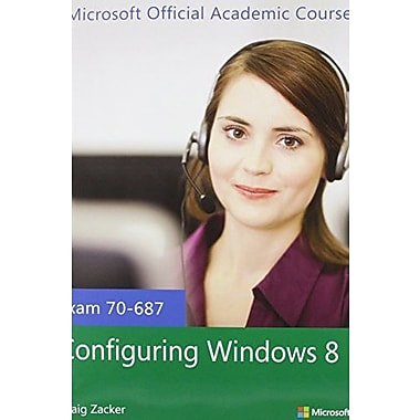 70-687 Configuring Windows 8 with MOAC Labs Online Set, New Book, (9781118668344)