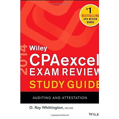 Wiley CPAexcel Exam Review 2014 Study Guide, Auditing and Attestation, New Book, (9781118734216)