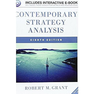 Contemporary Strategy Analysis: Text and Cases, New Book, (9781119941897)