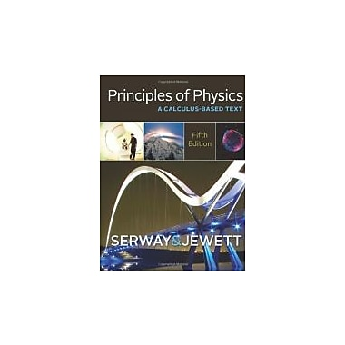 Principles of Physics: A Calculus-Based Text, New Book, (9781133104261)