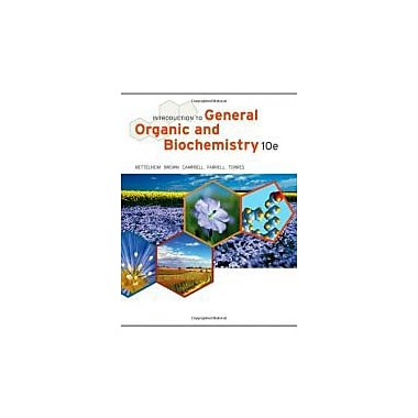 Introduction to General, Organic and Biochemistry, New Book, (9781133105084)