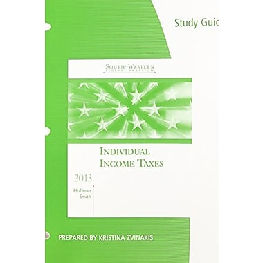 Study Guide for South-Western Federal Taxation 2013: Individual Income Taxes, 36th, Used Book, (9781133189138)