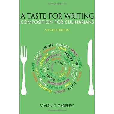 A Taste for Writing: Composition for Culinarians, New Book, (9781133277910)