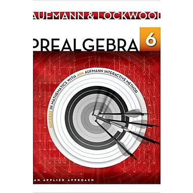 Prealgebra: An Applied Approach, Used Book, (9781133365457)