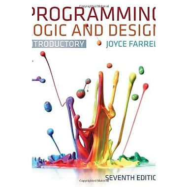 Programming Logic and Design, Introductory, New Book, (9781133526513)