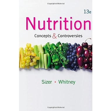 Nutrition: Concepts and Controversies, New Book, (9781133603184)