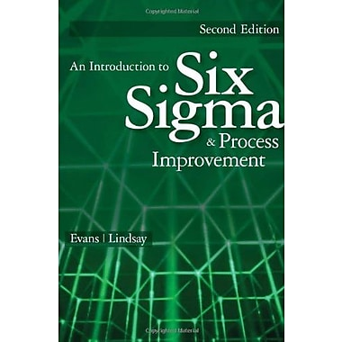 An Introduction to Six Sigma and Process Improvement, New Book, (9781133604587)
