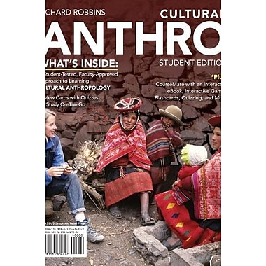 Cultural ANTHRO 2 (with CourseMate Printed Access Card), Used Book, (9781133606727)