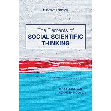 The Elements of Social Scientific Thinking, New Book, (9781133607670)