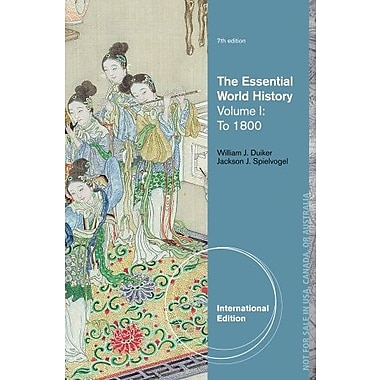The Essential World History, Volume I: to 1800, New Book, (9781133607724)