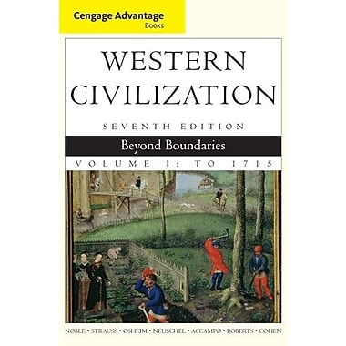 Cengage Advantage Books: Western Civilization: Beyond Boundaries, Volume I, New Book, (9781133610137)