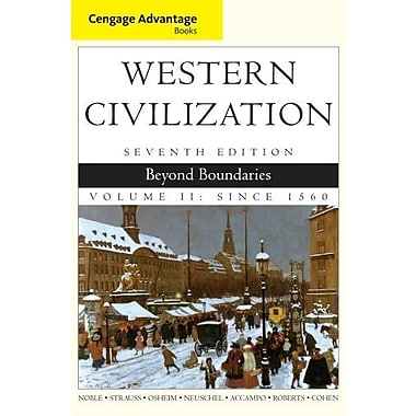 Cengage Advantage Books: Western Civilization: Beyond Boundaries, Volume II, Used Book, (9781133610151)