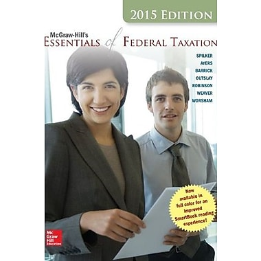 McGraw-Hill's Essentials of Federal Taxation, 2015 Edition, Used Book, (9781259212819)