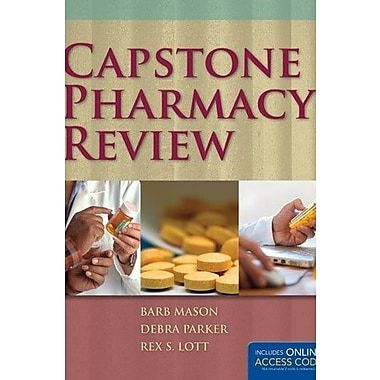 Capstone Pharmacy Review & Navigate Testprep, Used Book, (9781284031553)