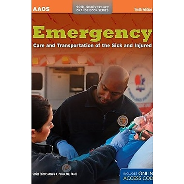 Emergency Care And Transportation Of The Sick And Injured (Orange Book Series), Used Book, (9781284032840)
