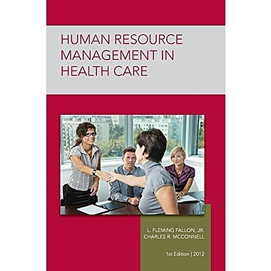 Strayer Human Resource Mgmt in Health Care Custom, New Book, (9781284033649)